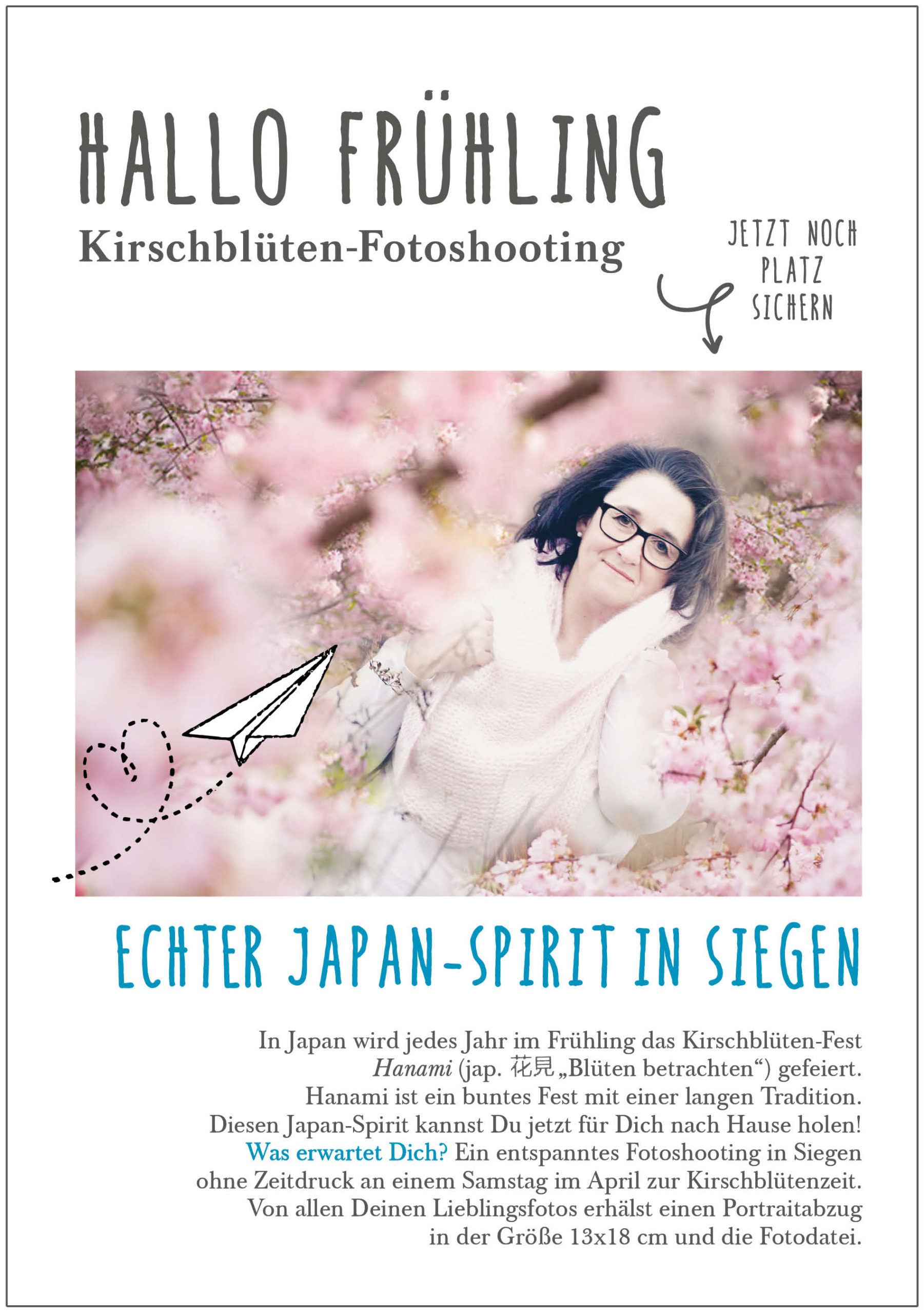 Fotoshooting Kirschblüte