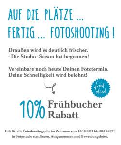 Frühbucher-Rabatt